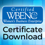 Download WBENC Certificate